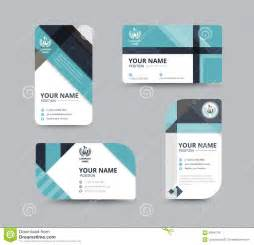 business name card design for corporation card template vector stock vector image 58641781