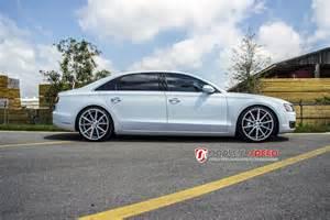 Audi A8l Accessories Audi A8 L On 22 Vossen Vfs1 Advanced Automotive Accessories