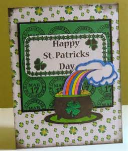365 days of cricut st patricks day card
