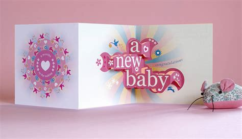make a 3d card nine months in the 3d greetings card by open box