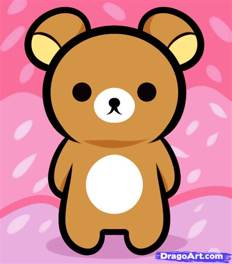 tutorial gambar rilakkuma how to draw rilakkuma rilakkuma step by step characters