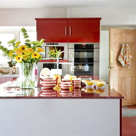 Versatile And Bold Red Kitchen Designs | versatile and bold red kitchen designs