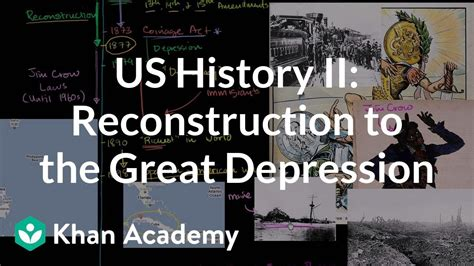 apush review review part ii reconstruction us history overview 2 reconstruction to the great dep