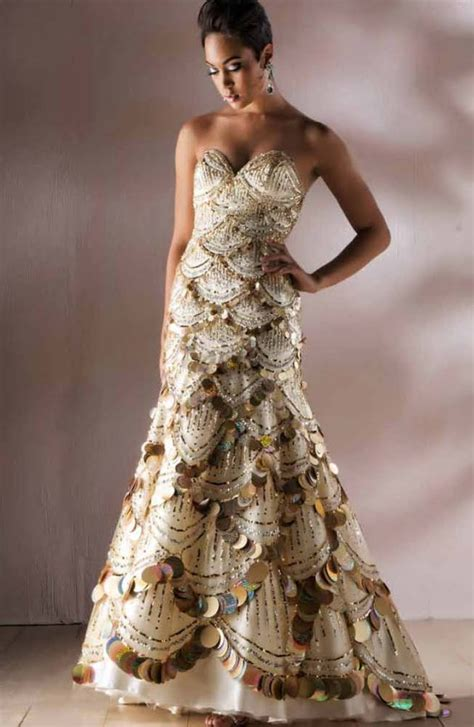 mac duggal couture 2010 evening dress wedding