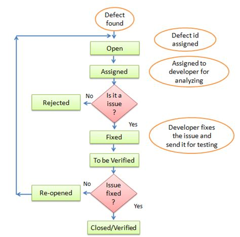bug cycle diagram importance of bug cycle in software testing helical