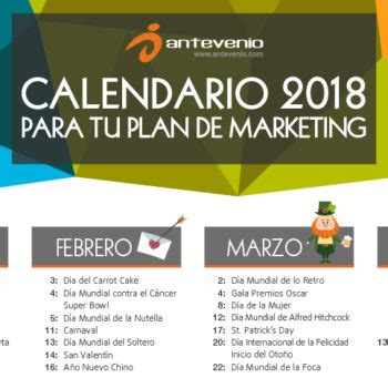calendario de contribuyentes especiales 2018 ks7000 wp calendario de marketing 2018 archives antevenio