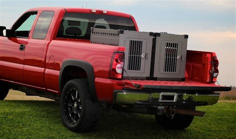 truck bed dog crate collapsible dog boxes