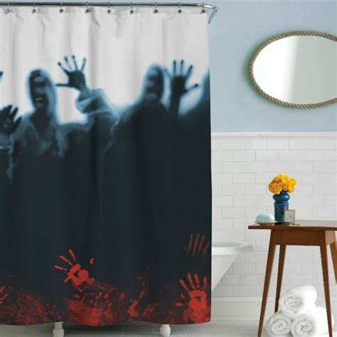 Zombie Herd Shower Curtain Shut Up And Take My Money