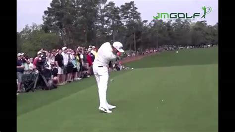rickie fowler swing slow motion rickie fowler golf swing at the masters 2015 youtube