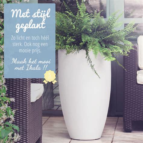 Mooie Planten Voor Binnen by Mooie Kunststof Bloempotten Voor Binnen En Buiten Ikala