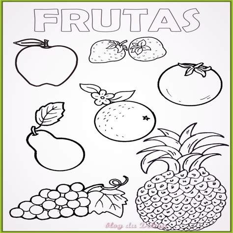 imagenes para colorear verduras y frutas dibujos de frutas para colorear en preescolar
