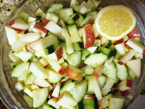 Cucumber Detox Salad by 16 Best Jj Smith Approved Snacks Images On