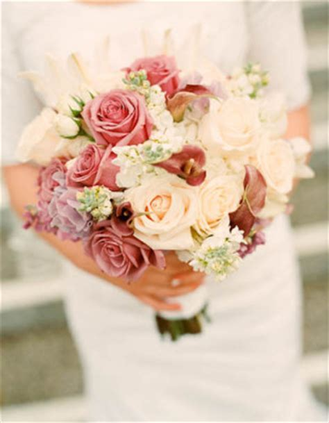 Unusual Summer Wedding Bouquets & Outdoor Flowers   Bridal