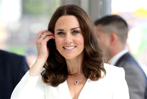 kate middleton looks gorgeous with new hairstyle rides princess kate shoots down perfect princess compliment