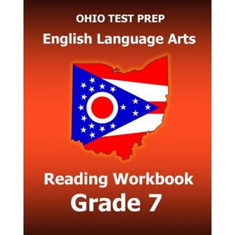 parcc test prep grade 7 language arts literacy ela practice workbook and length assessments parcc study guide books ohio test prep language arts reading workbook
