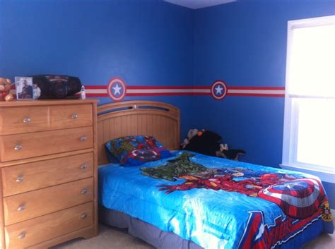 Captain America Decor by Oldest S Room Decor Captain America Theme We Just