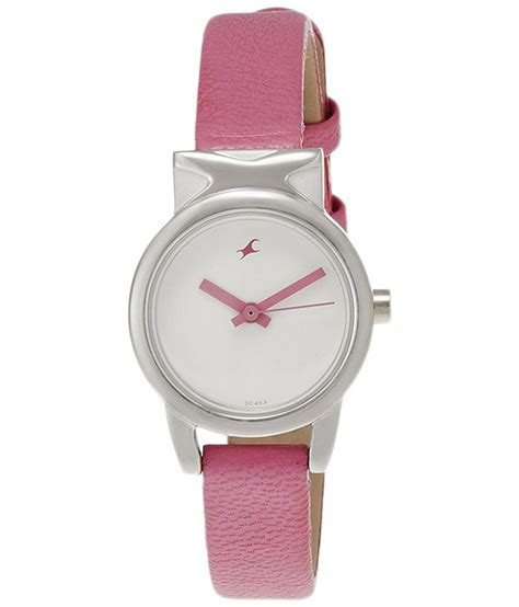 pink price fastrack pink analog wrist for price in india