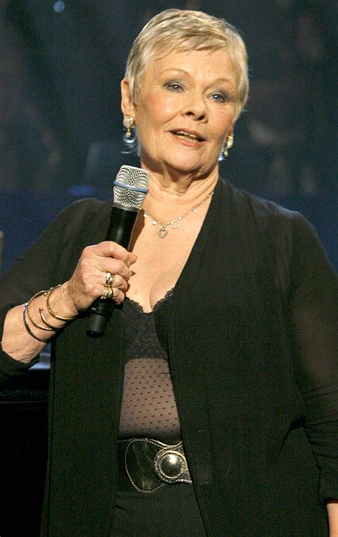 the day judi did a judy and flashed more than she