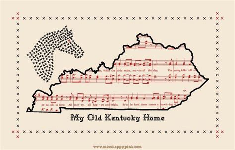 state song my kentucky home