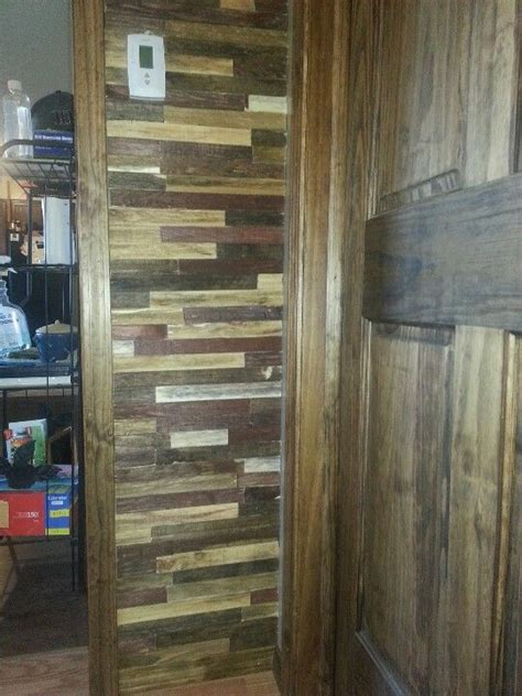 rustic wall treatments rustic wall treatment wood lathe stained 5 different