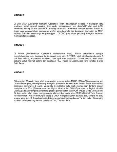 format laporan bacaan format laporan lifix