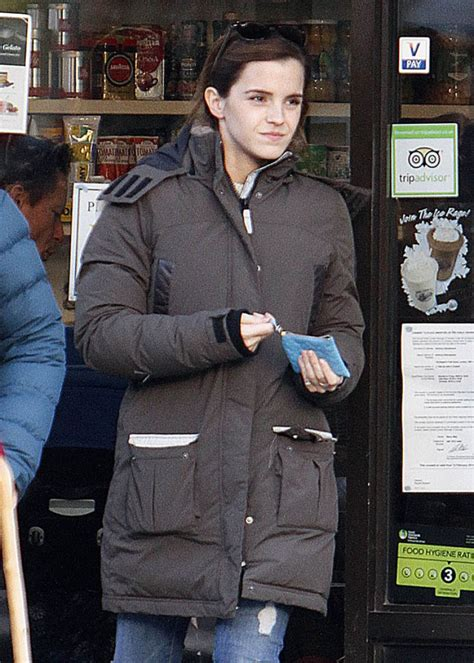 emma watson merchandise emma watson leaves a coffee shop in london hawtcelebs