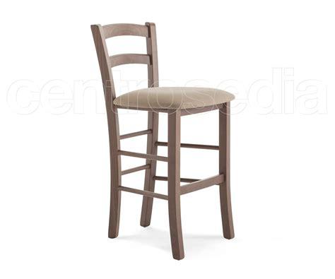 sgabelli legno bar sgabello legno seduta imbottita hs 63 cm