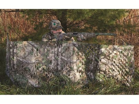 Portable Ground Blind s specialties portable ground blind 12 x 27 polyester