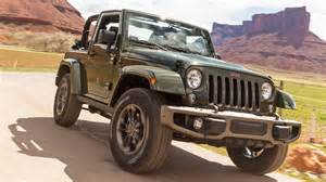 Jeep Wrangler 1 Jeep Wrangler 75th Anniversary Edition Gets Array Of New