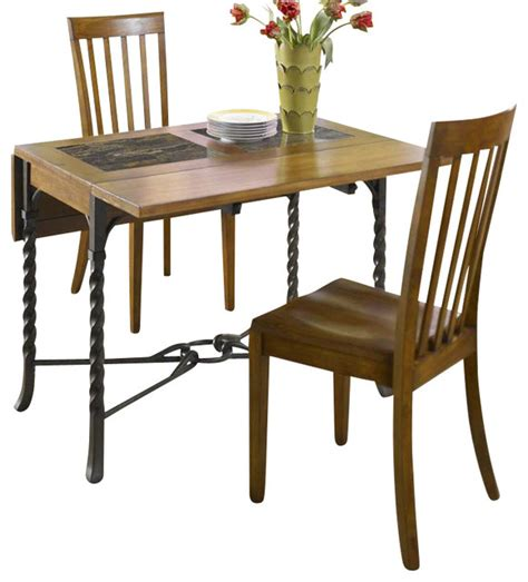 Drop Leaf Dining Table Set by Riverside Furniture Medley 3 Drop Leaf Dining Table
