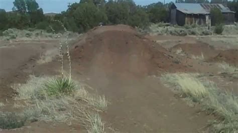 backyard dirt bike track back yard motocross track cr125 youtube