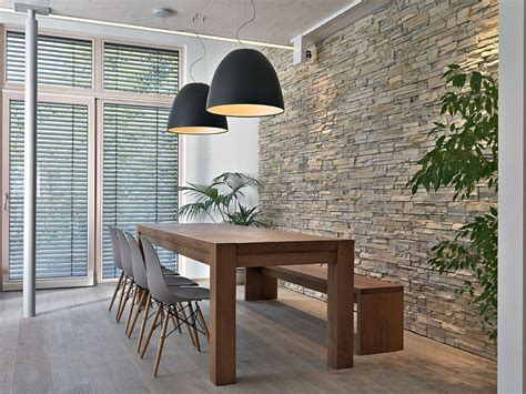 wall decor for dining area interior large black pendant lights above the dining area