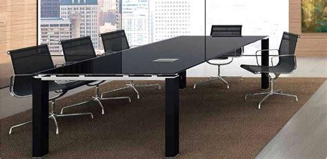tavolo riunione vetro mobili per ufficio tavolo riunioni vetro cm 240