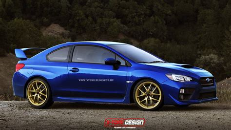 2015 Subaru Wrx Sti Coupe What Should Have Been Built