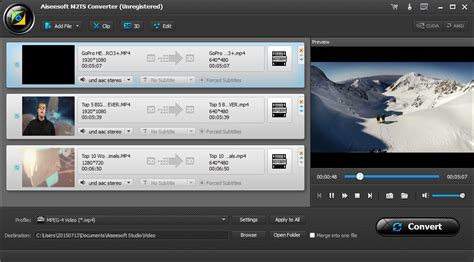 format video m2ts aiseesoft m2ts converter pictures and screenshots
