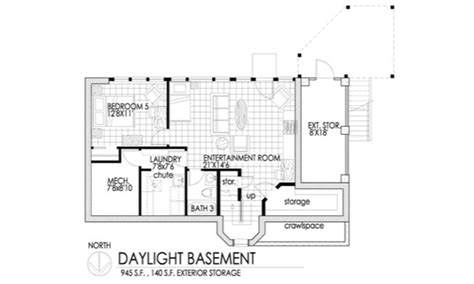 daylight basement plans daylight basement for the home