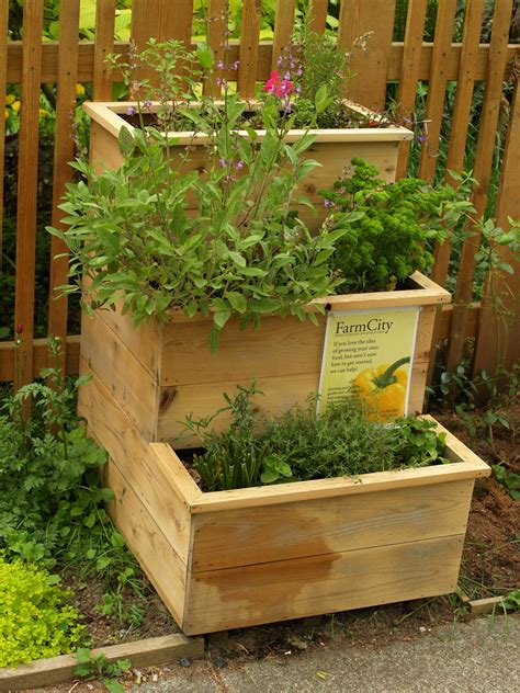 Tiered Herb Planter by Gardens For Small Spaces And Balconies Survival Central