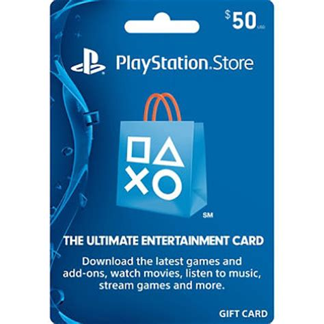 Ps3 Store Gift Card - sony playstation store gift card 50 sam s club