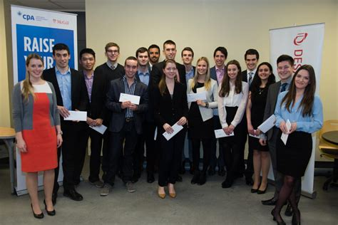 Mcgill Desautels Mba Scholarship by 24 Desautels Undergraduate Accounting Students Recently