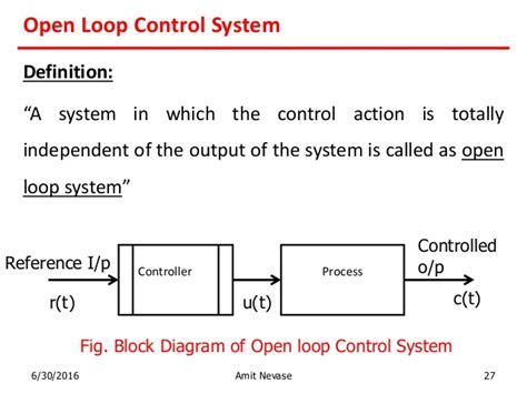 controlling definition control system