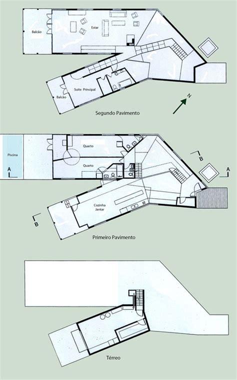 Uma Arquitetura Que 233 Simult 226 Neamente Destacada Da Y House Steven Holl Floor Plans