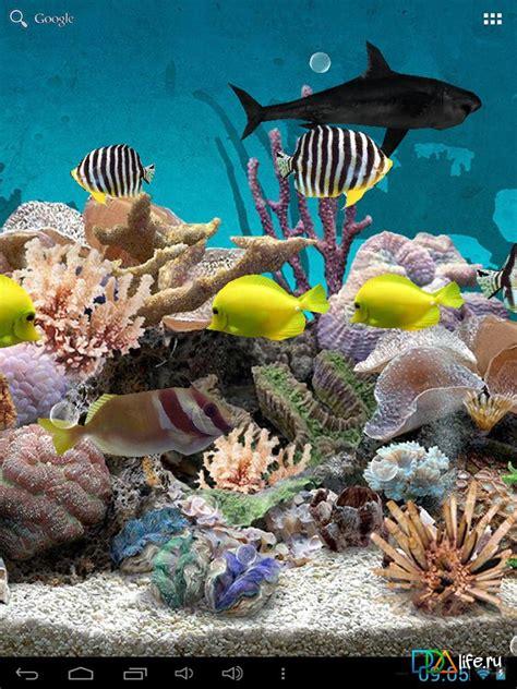 aquarium  wallpaper pro skachat  na android
