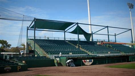 awnings bradenton fl shade returns to mckechnie field milb com news the official site of minor league