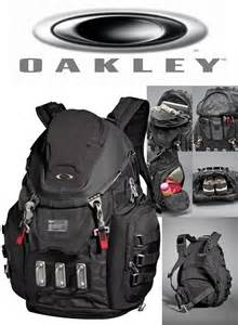 brand new oakley kitchen sink backpack black 92060 nwt