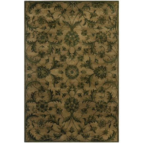 6 x 9 rugs safavieh antiquity olive green 6 ft x 9 ft area rug at824a 6 the home depot