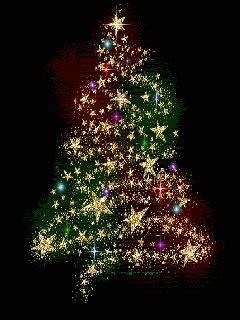 arboles navidad brillosas gif gifs animados arboles