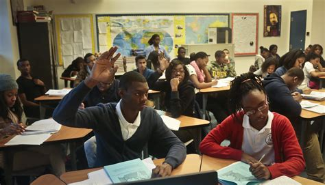 york high school classroom city students take sat ap tests in record numbers