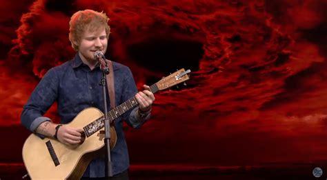 ed sheeran voice type ed sheeran singing acoustic versions of heavy metal songs