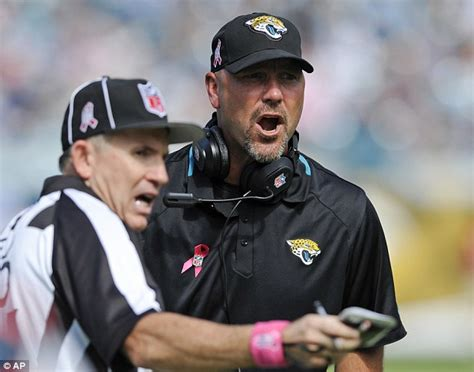 Jacksonville Jaguars Coach Jacksonville Jaguars Coach Gus Bradley Leaves Team