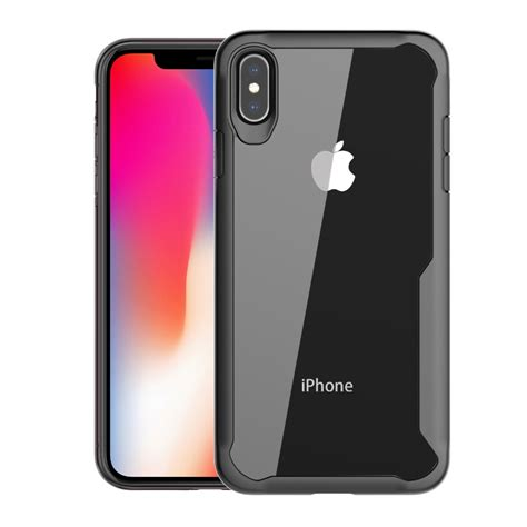 bakeey protective for iphone xs max anti fingerprint transparent acrylic soft silicone